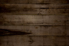 Textur för horisontalladugårdträväggplank Återvinner gammalt trä Royaltyfri Foto