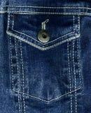 textur för jeansfacktextil Fotografering för Bildbyråer
