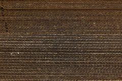 Textur för korrugerat papper Arkivfoto