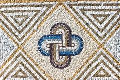 Textur för marmorstenmosaik Arkivfoton