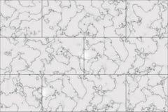 Textur för marmortegelplattagolv Royaltyfri Fotografi