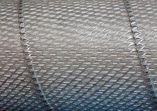 textur för metall för bakgrundscloseupraster industriell Royaltyfria Bilder