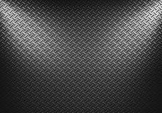 Textur för metallark med riktningsstrålkastare två Arkivbild
