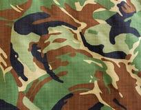 Textur för Milityary skogsmarkkamouflage Royaltyfria Bilder