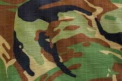 Textur för Milityary skogsmarkkamouflage Royaltyfri Fotografi