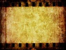 textur för negative för bakgrundsfilmgrunge Royaltyfria Bilder