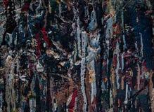 Textur för olje- målning för bakgrund Royaltyfria Bilder