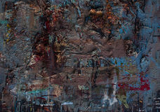 Textur för olje- målning för bakgrund Arkivbilder
