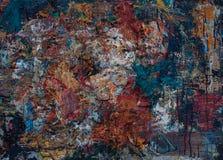 Textur för olje- målning för bakgrund Fotografering för Bildbyråer