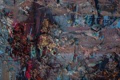 Textur för olje- målning för bakgrund Royaltyfri Bild