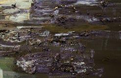 Textur för oljemålning stock illustrationer