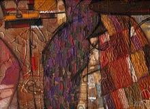 textur för oljemålning Royaltyfria Bilder