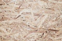 Textur för Osb wood träfiberplattabakgrund Royaltyfri Fotografi