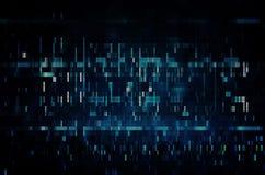 Textur för provskärmtekniskt fel Arkivfoto
