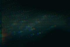 Textur för provskärmtekniskt fel Arkivbilder