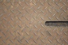 textur för reflexion för metallplatta Royaltyfria Bilder