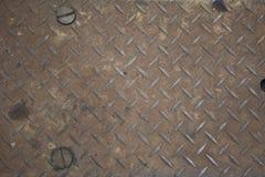 textur för reflexion för metallplatta royaltyfri foto