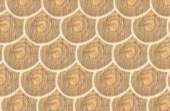 Textur för runt trä Royaltyfri Foto