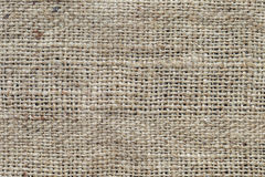 Textur för säckvävsäck, lantlig bakgrund royaltyfri fotografi