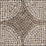 Textur för Sardis stenmosaik. Arkivbilder