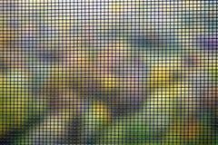 Textur för skärmen för närbildmyggatråd, myggnät för förhindrar kryp och fel stock illustrationer