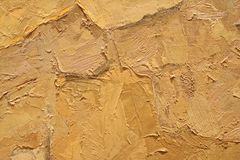 Textur för för olje- målning övre med borsteslaglängder Royaltyfria Bilder
