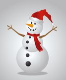 textur för snowman för hoiday modell för bakgrundsjul seamless Arkivfoto