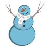 textur för snowman för hoiday modell för bakgrundsjul seamless Royaltyfri Illustrationer