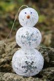 textur för snowman för hoiday modell för bakgrundsjul seamless Royaltyfria Bilder