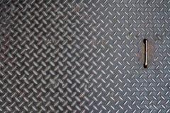 Textur för stålgolv Royaltyfria Foton