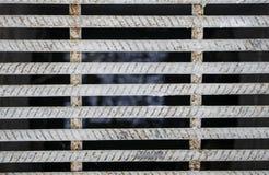 Textur för stålstång Royaltyfria Bilder