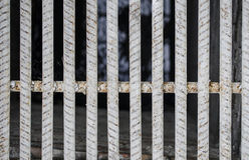 Textur för stålstång Royaltyfri Bild