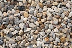 textur för sten för bakgrundspebblerock Arkivfoton