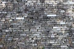 Textur 2 för stentegelstenvägg Arkivbilder