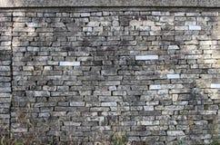 Textur för stentegelstenvägg Royaltyfria Foton