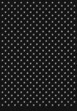 textur för stjärnor för ingreppsmetallmodell Royaltyfria Bilder