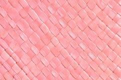 Textur för sugrörvävbakgrund Royaltyfria Bilder