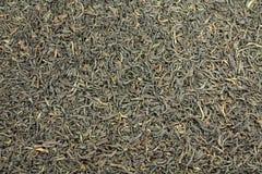 Textur för svart te Arkivfoto