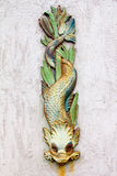 textur för symbol för drakegrunge gammal rostig Royaltyfria Bilder