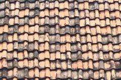 Textur för taktegelplatta Arkivfoto