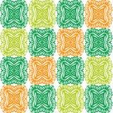 Textur för tapet Apelsin gräsplan, gulingprydnader Arkivbilder