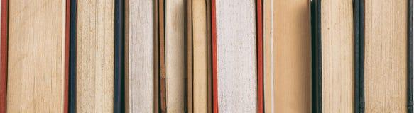 Textur för tappningbokdetalj - baner Royaltyfria Bilder