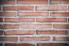 Textur för tegelstenvägg Arkivbild