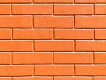 Textur för tegelstenvägg för använt som bakgrund Arkivbild