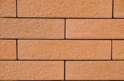 Textur för tegelstenvägg på bakgrund Royaltyfri Bild