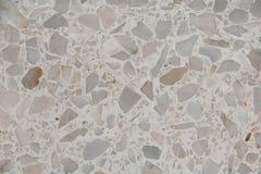 Textur för Terrazzogolvmarmor, polerad stenbakgrund Royaltyfria Bilder