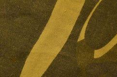 Textur för textilkamouflagetorkduk Arkivfoton