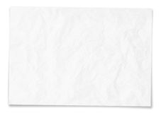 Textur för tomt papper Arkivfoton