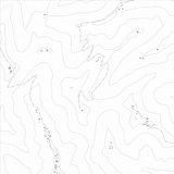 Textur för Topographic översikt royaltyfri illustrationer