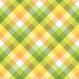 Textur för tyg för färgplädborddukar sömlös Arkivbilder